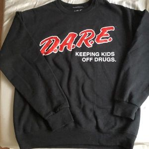 D.A.R.E Medium Crewneck Sweater